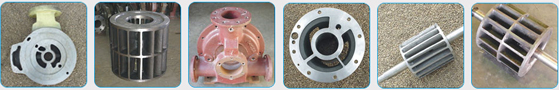 Spare Parts of Liquid Ring Vacuum Pumps PL Series.