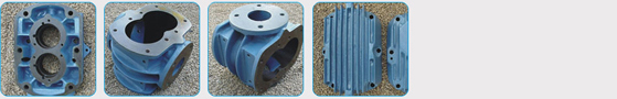 Spare Parts of Twin Lobe Roots Blower PRP Series.